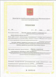 Лицензия на прием металлолома Фото1